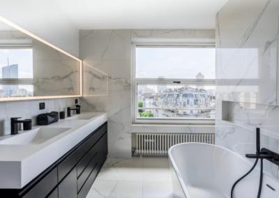 Salle de bains à Neuilly Sur Seine